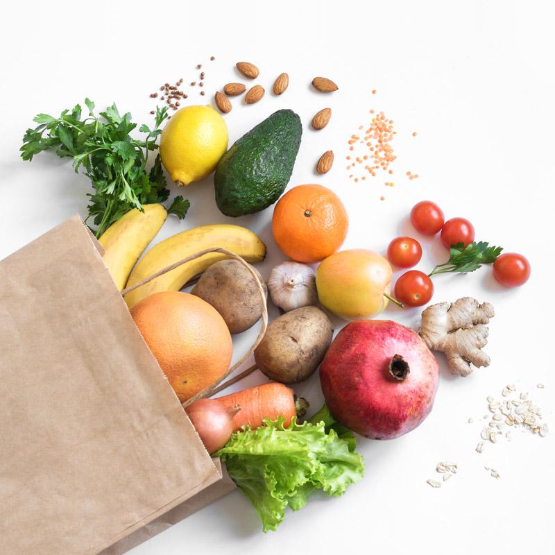 Il benessere di frutta e verdura
